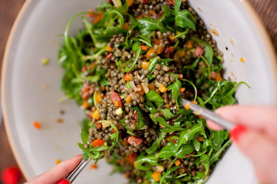 Receta para comer legumbres en verano